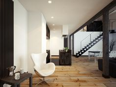 This Polish Loft Apartment is All Kinds of Cool | UltraLinx