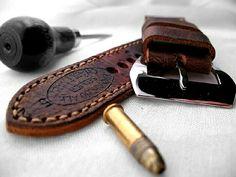 ammo wrist watch strap