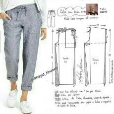 Best 12 FREE PATTERN ALERT: Pants and Skirts Sewing Tutorials – On the Cutting Floor: Printable pdf sewing patterns and tutorials for women – SkillOfKing. Sewing Pants, Sewing Clothes, Barbie Clothes, Dress Sewing Patterns, Clothing Patterns, Pattern Sewing, Pattern Drafting, Shirt Patterns, Fashion Sewing
