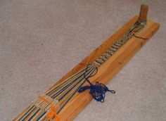 loom tablet weaving