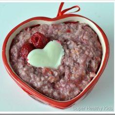 Raspberry Vanilla Oatmeal
