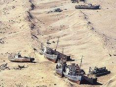 アラル海が消えた…20世紀最大と言われる環境破壊 : らばQ