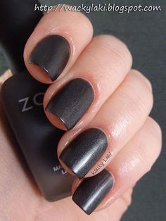 Zoya - Dovima (matte) (I'm really sad that I missed my chance at this when they reissued it last fall!)