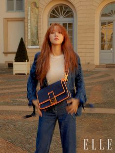 Actress and model Lee Sung Kyung has posed for 'Elle Korea'.While visiting Milan for the 2019 fashion week, Lee Sung Kyung attended the Fendi show… Nam Joo Hyuk Lee Sung Kyung, Sung Hyun, Gong Hyo Jin, Lee Sung Kyung Hair, Lee Sung Kyung Fashion, Asian Actors, Korean Actresses, Korean Actors, Korean Idols