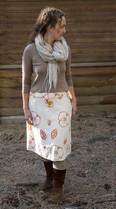 US Tasha's Fibershed Skirt