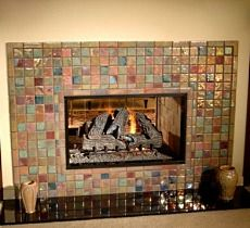Pewabic Ceramic fireplace | Detroit, Public and Pottery