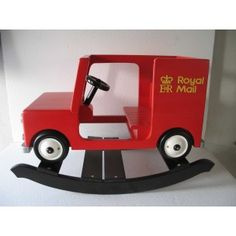 kids wooden rocking postman pat van and noddy car rocker Wooden Car, Wooden Toys, Postman Pat, Traditional Toys, Gadget Gifts, Particle Board, Wood Construction, Picture Design, Personalized Baby