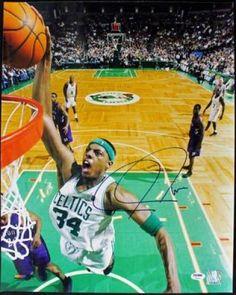 Paul Pierce Signed 16x20 Photo - PSA/DNA #SportsMemorabilia #BostonCeltics