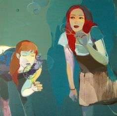 "Saatchi Art Artist Liu Chenyang; Painting, ""bubble"" #art"