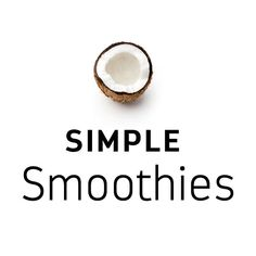 The trusted leader in natural sweeteners, dedicated to providing healthier alternatives to highly processed, refined sugars artificial sweeteners Easy Smoothie Recipes, Easy Smoothies, Breakfast Smoothies, Smoothie Packs, Smoothie Bowl, Coconut Sugar, Healthy Alternatives, Taste Buds, Yummy Snacks