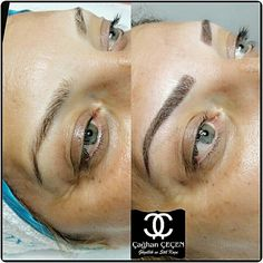 Kalıcı makyaj mikropigmentasyon eyebrow makyaj eyebrow