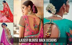 Flaunt chic style in these designer blouse backs, perfect for weddings or parties. No saree will ever be boring with these trendy saree blouse back designs!