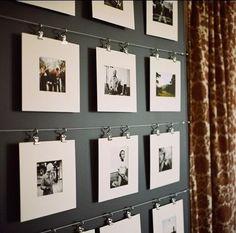 how to hang your photos #creativity #diy