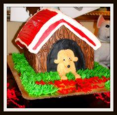 Puppy Dog Birthday Party. Birthday Cake.