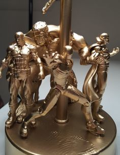Make a quick, easy, and cheap action figure desk lamp for a kid's room