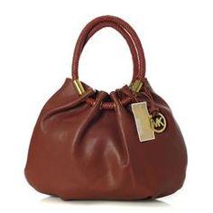 Michael Kors Marina Large Brown Drawstring Bags