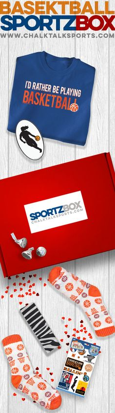 This Sportzbox, full of items is sure to score points with your player.