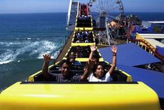 A #rollercoaster ride with views of the Pacific Ocean - one for the family must-do bucketlist!