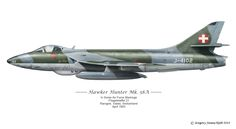 Hawker Hunter MK.58A - Swiss Air Force