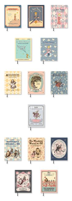 Gorgeous vintage designs combine with colorful illustrations from Alice in Wonderland, The Little Prince, and the Wonderful Wizard of Oz to create this beautiful Vintage Galore Monthly Scheduler! ^.~* It's cute with a protective hardcover and a practical page layout, so check it out!
