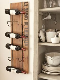 Wall Wine Rack - Nordic House