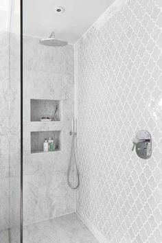 Bathroom Shower Tile Remodel Cubbies New Ideas Bad Inspiration, Bathroom Inspiration, Bathroom Ideas, Bathtub Ideas, Bathroom Interior, Bathroom Organization, Bathroom Hacks, Bathroom Storage, Bathroom Renovations