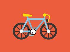 Bike dribbble
