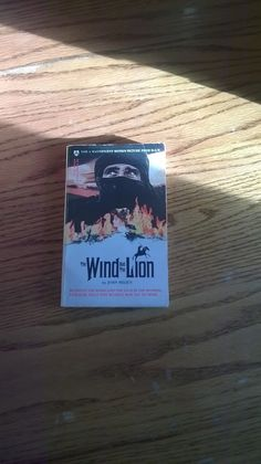 Hey, I found this really awesome Etsy listing at https://www.etsy.com/listing/287705811/the-wind-and-the-lion-john-milius-1st