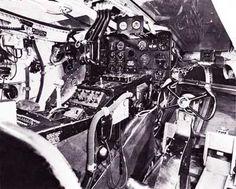 Nothrop XB-35 Flying Wing Cockpit