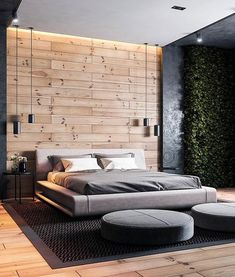 "Design.Only na Instagrame: ""Bedroom Visualization by Mostafa Hardani •  •  •#Design_Only #architecture #architect #design #interior #render #bedroom #bed #wood…"" Wooden Flooring, Outdoor Furniture, Outdoor Decor, Architecture, Instagram, Interior, Wall, Bedroom Bed, Architect Design"