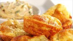 Giada De Laurentiis - Garlic and Cheese Popovers