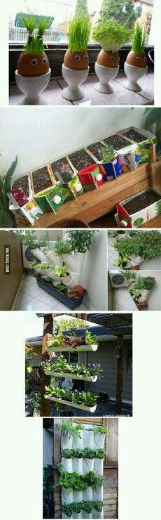Awesome garden hacks!