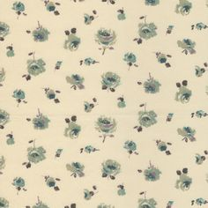 A classic miniature roses floral Print from Liberty of London. Two tone blue flowers with green leaves. A very versatile print, this coordinates with lots of other liberty prints.Size:Fat Quarter…
