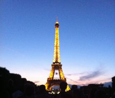 Paris, Eiffel Tower, National Day, 2012 July 14th