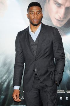 Chadwick Boseman / Makes you sing the Johnny Gill song.My, my, my you show look good tonite! Black Is Beautiful, Gorgeous Men, Black Panther Chadwick Boseman, Handsome Black Men, Black Man, Chocolate Men, Black Actors, Man Crush Everyday, Black Panther Marvel
