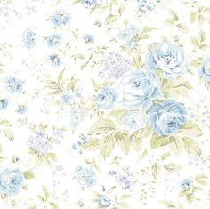 Shabby chic fabric 1 yard plus 29 inches  Treasures by TokyoFabric, $17.15
