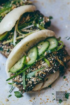 Salt + Pepper Tofu Gua Bao | Vegan Miam