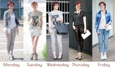 Outfit ideas monochrome work party casual