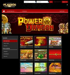 Play now HD Games from GameArt in our playros.com/casino