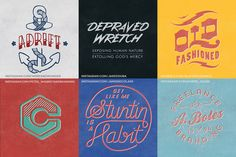 * * * * * * * Exclusive * * * * * * * * * * * * * * * * * * * * * * * * * * * * Includes 5 bonus textures from designer, hand letterer and screen printer Rob Brink. Check out his latest