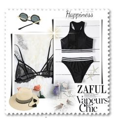 """Zaful 26"" by selmica11 ❤ liked on Polyvore featuring Anja and York Wallcoverings"