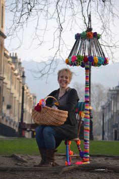 Yarn bombing by Emma Leith
