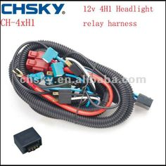 hot sell! copper wire h7 relay harness kits for Auto headlight