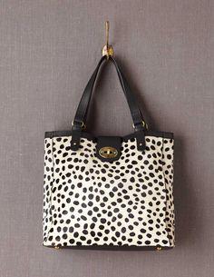 black and white animal print bag ❤️