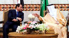 King Salman, Abdel-Fattah el-Sissi