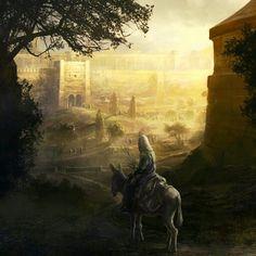 Chegando em Jerusalém
