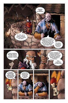 """Pagina 3 de """"El Dios fugitivo"""" Acto II"""