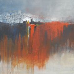 This is one of my paintings. Mixed media on canvas. 80x80cm www.liekevanhees.nl