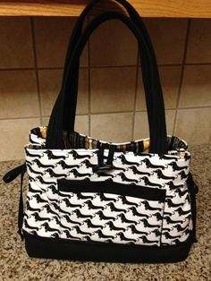 Wiener Dog Bow Tuck Purse~I must have this!!