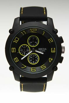 Breda Colton Watch Yellow